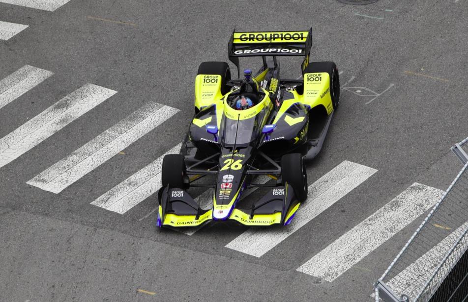 IndyCar: Herta nyerte a kaotikus második edzést Nashville-ben