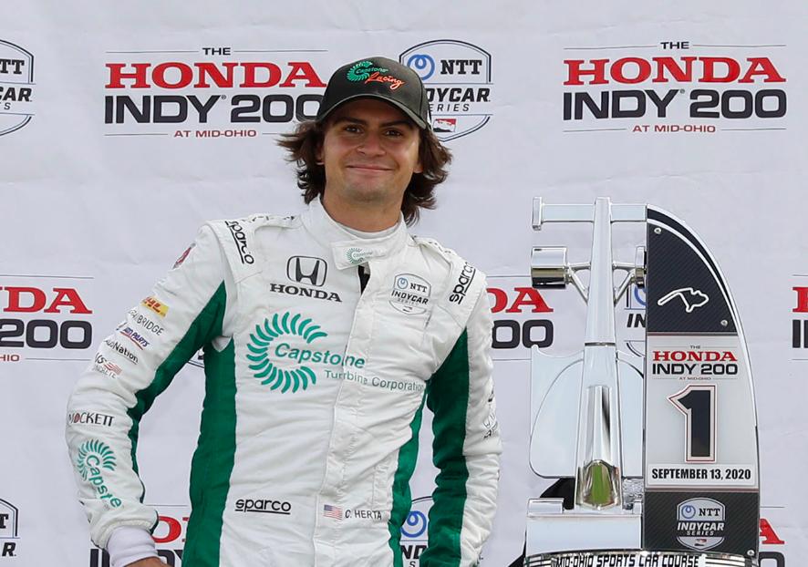 IndyCar: Colton Herta az Andretti Autosport főcsapatánál folytatja