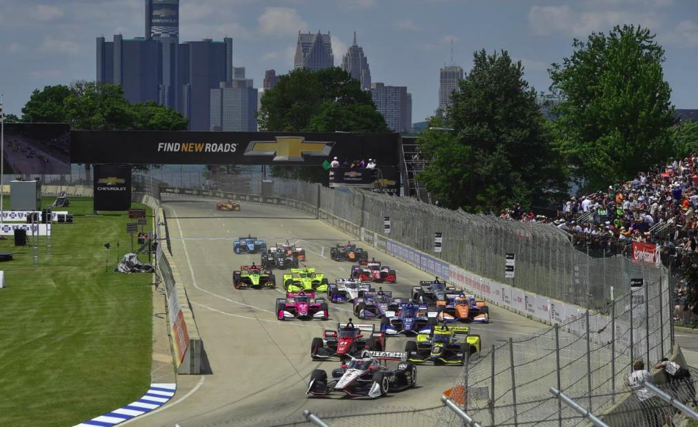 IndyCar: Elköltöztethetik a Detroit GP-t, már meg is van az új pályaterv