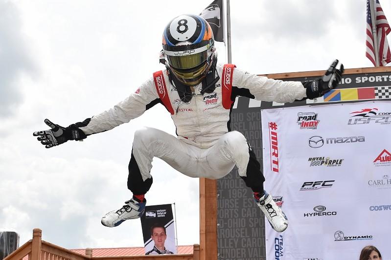 Újabb lépést tesz az IndyCar felé az Andretti Autosport csodagyereke