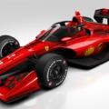 Ilyen menő is lehetne a Ferrari IndyCar-gépe