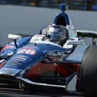 Marco Andretti nyerte az első edzést Iowában