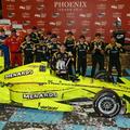 Álmatag versenyen lett meg a Team Penske 100. oválgyőzelme