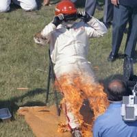 A biztonsági szakember, aki felgyújtotta magát az Indy 500 előtt