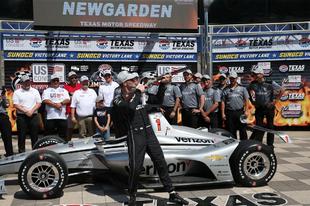 Newgarden szerezte meg a pole-t a texasi pokolban