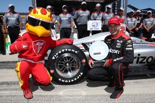 Will Power ötvenkettedszer az IndyCar pole-jában