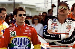 Amikor Dale Earnhardt Sr. beégette Jeff Gordont