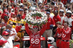 Franchitti nyerte a 96. Indianapolis 500-at