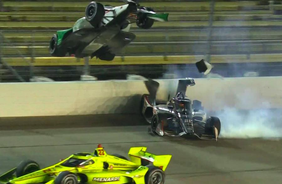 IndyCar: Pagenaud nyert Iowában, életet mentett az aeroscreen
