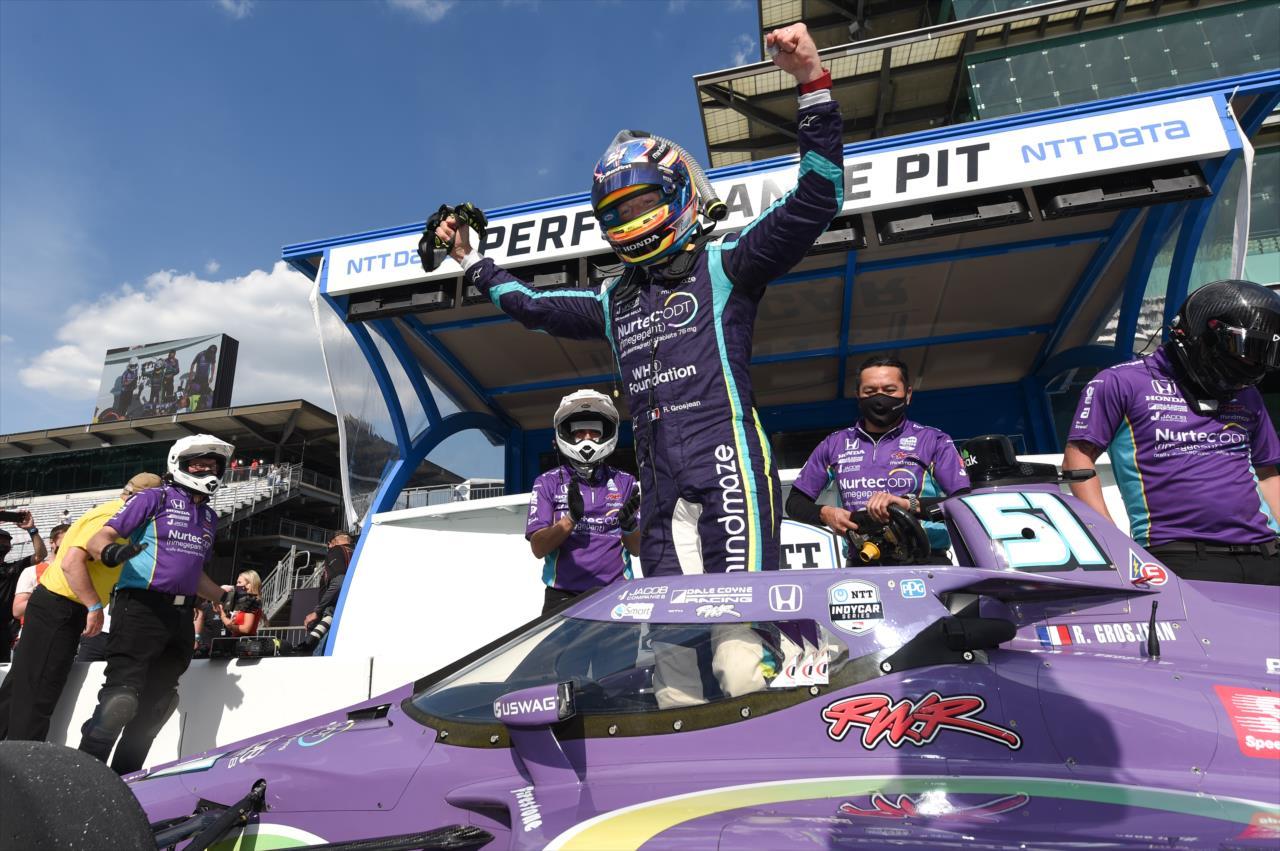 IndyCar: Romain Grosjean szerezte meg a pole-t Indianapolisban