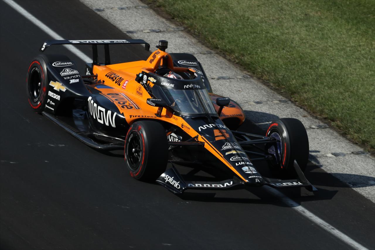 Indy 500: Patricio O'Ward és a McLaren zárta az élen az utolsó edzést