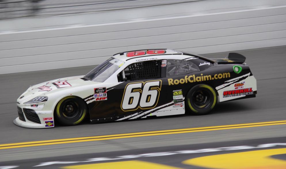 Van egy NASCAR-csapat, amely 12 futam után is mínusz ponton áll összetettben