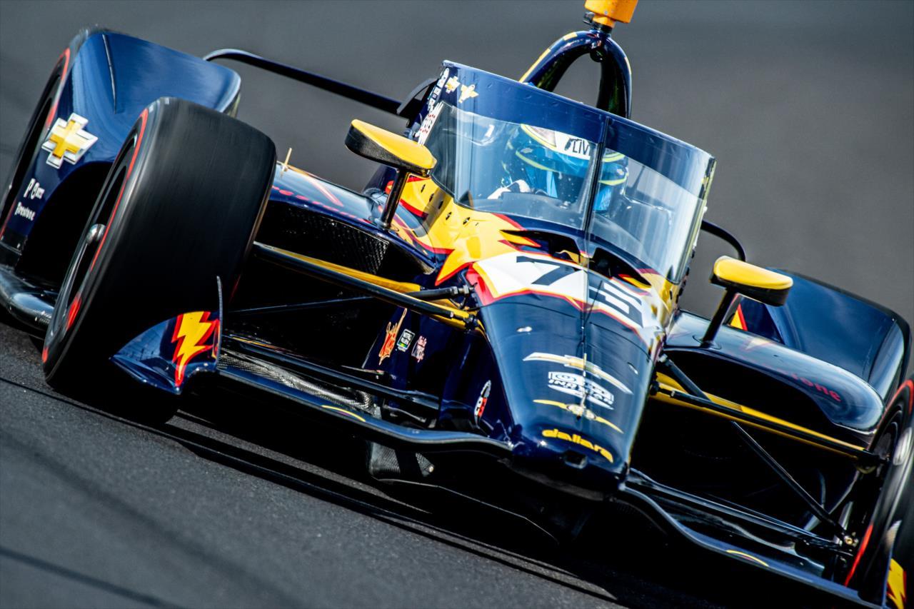 IndyCar: Jövő hónapban, az IMS roadján tér vissza a Top Gun Racing