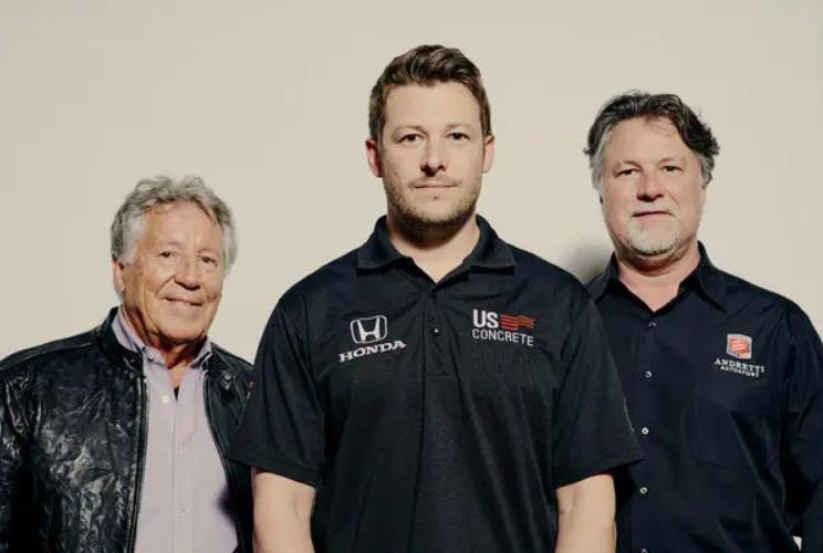 A történelem során először három Andretti is ott lesz Indy 500 mezőnyének élén