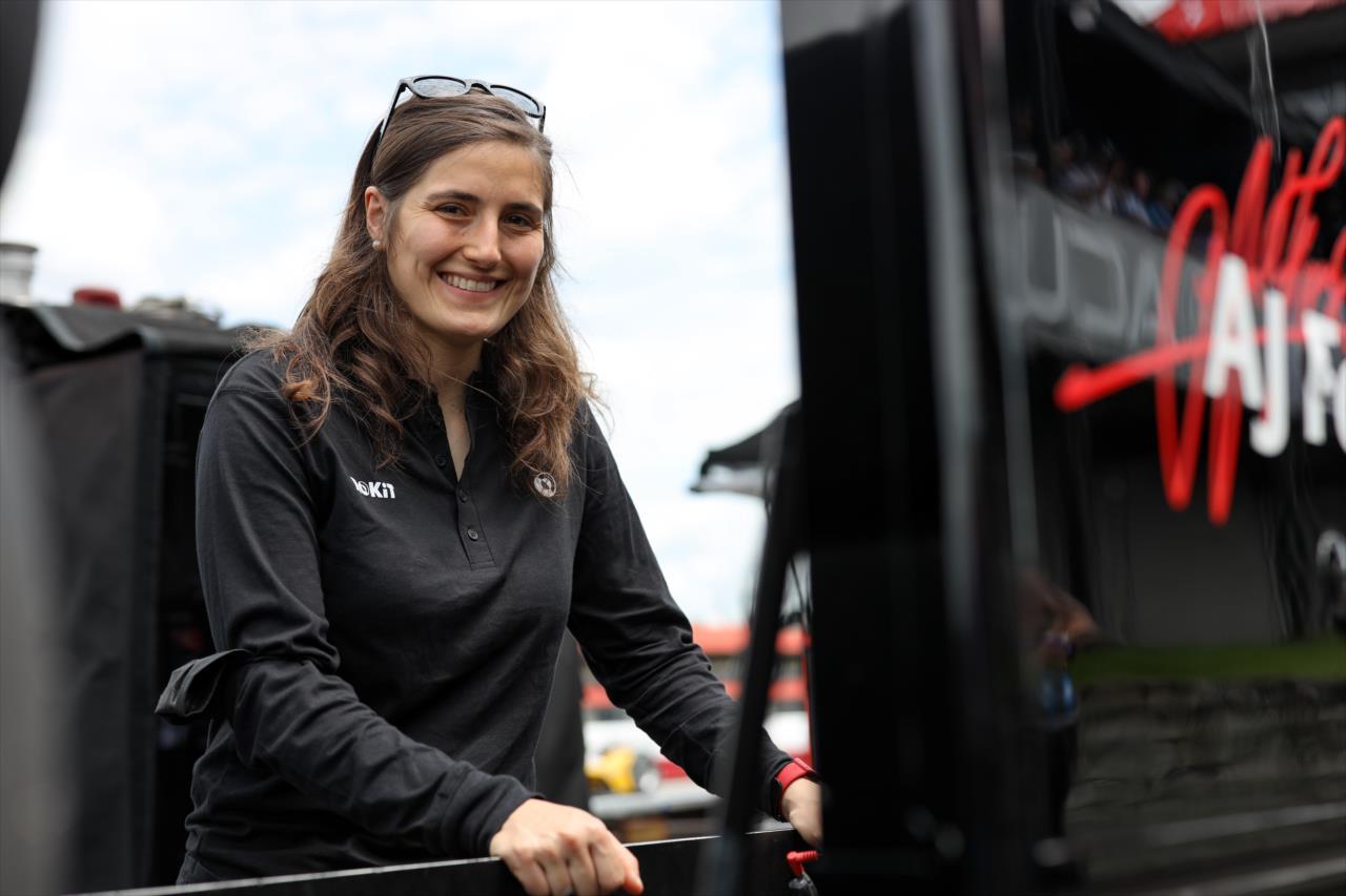 Meggyőző tesztje után IndyCar-szerződést kaphat Tatiana Calderon