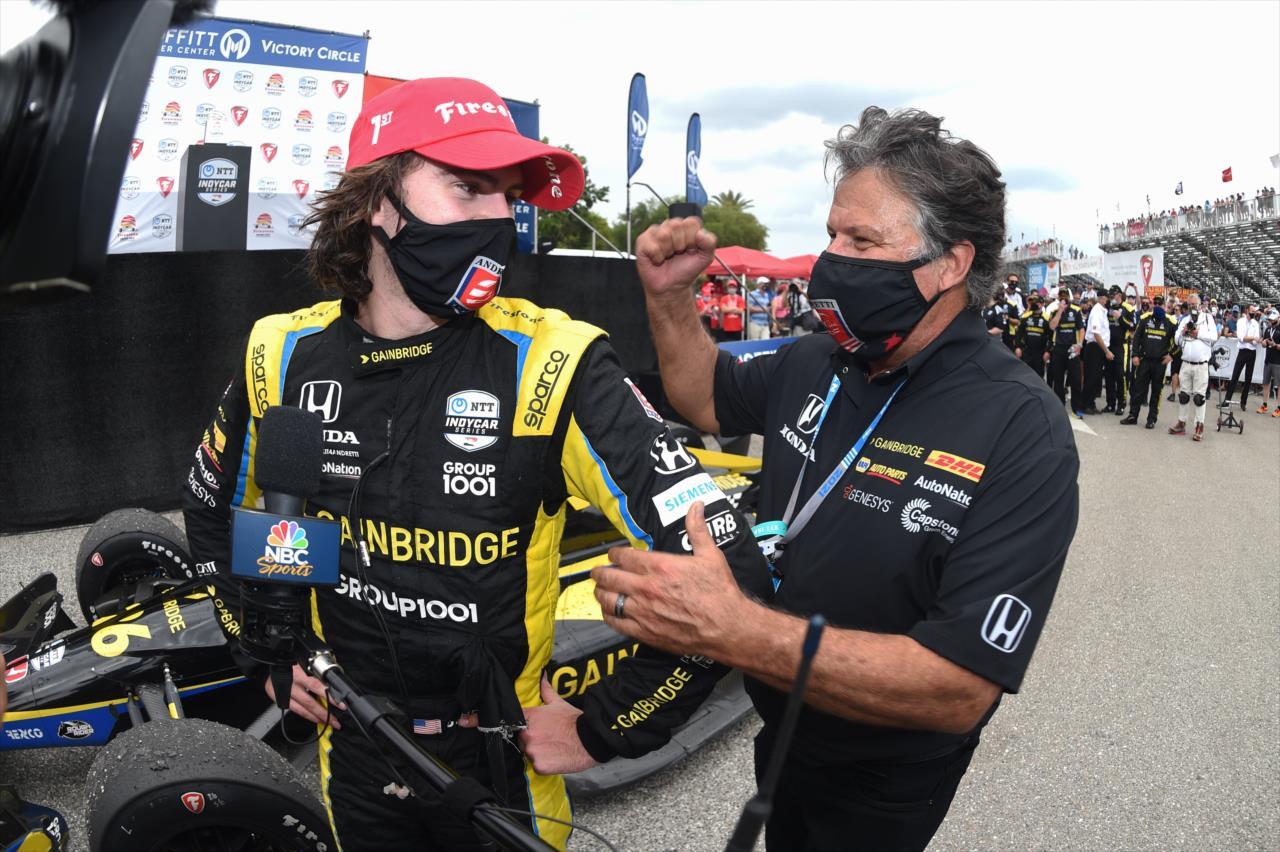 Andretti: Ha a Ferrari bejelentkezne Hertáért, nem állnék az útjába