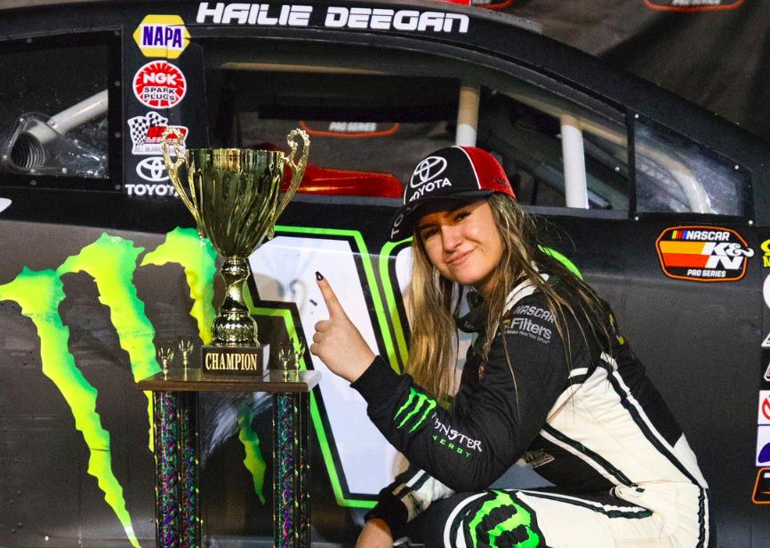 Hailie Deegan – A női versenyző, akire mindenki várt?