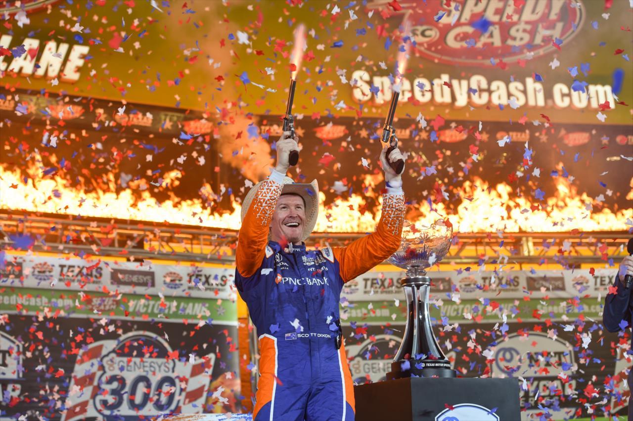 IndyCar: Dixon nyert, McLaughlin másodikként zárta élete első oválfutamát