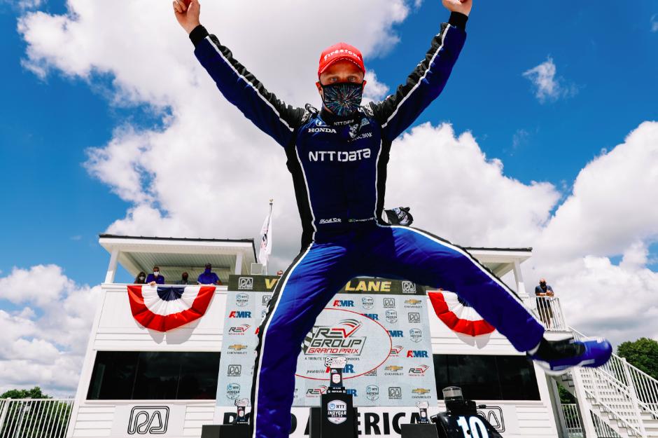 Megszerezte első IndyCar-győzelmét Felix Rosenqvist