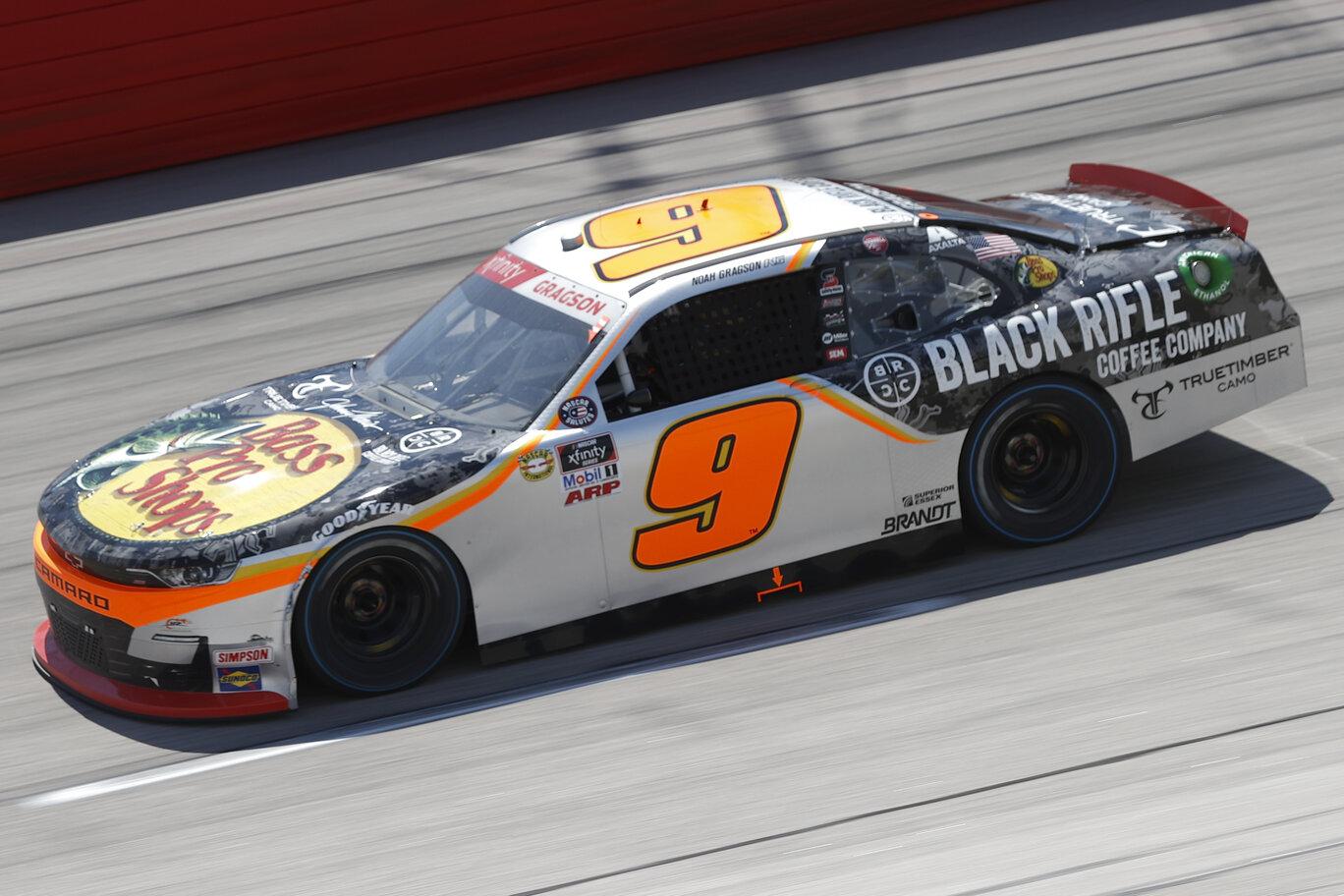 NASCAR: A JR Motorsports fellebbez Gragson büntetése ellen