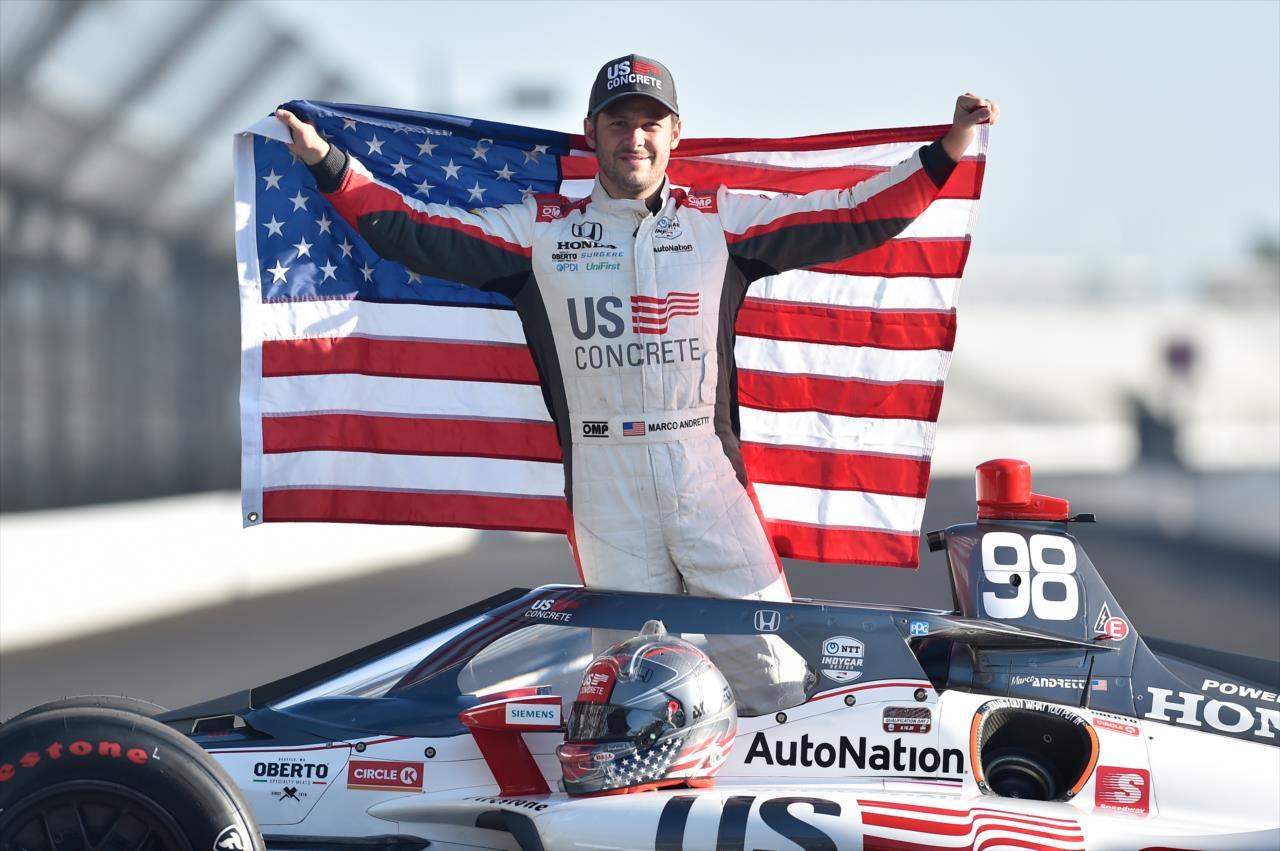 "Indy 500: Marco Andretti, a ""szívek pole-pozíciósa"""