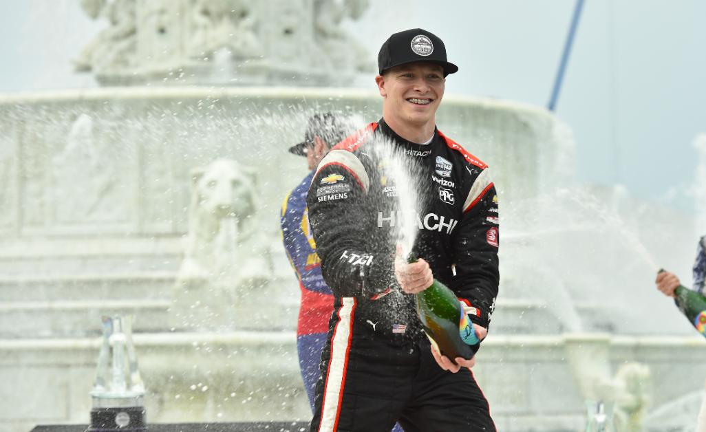 Newgarden nyerte az IndyCar detroiti időfutamát