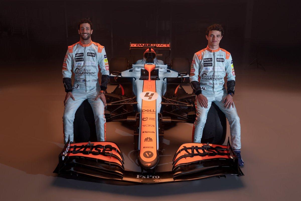 NASCAR-stílusú, retro F1-futamot szeretnének a McLaren versenyzői