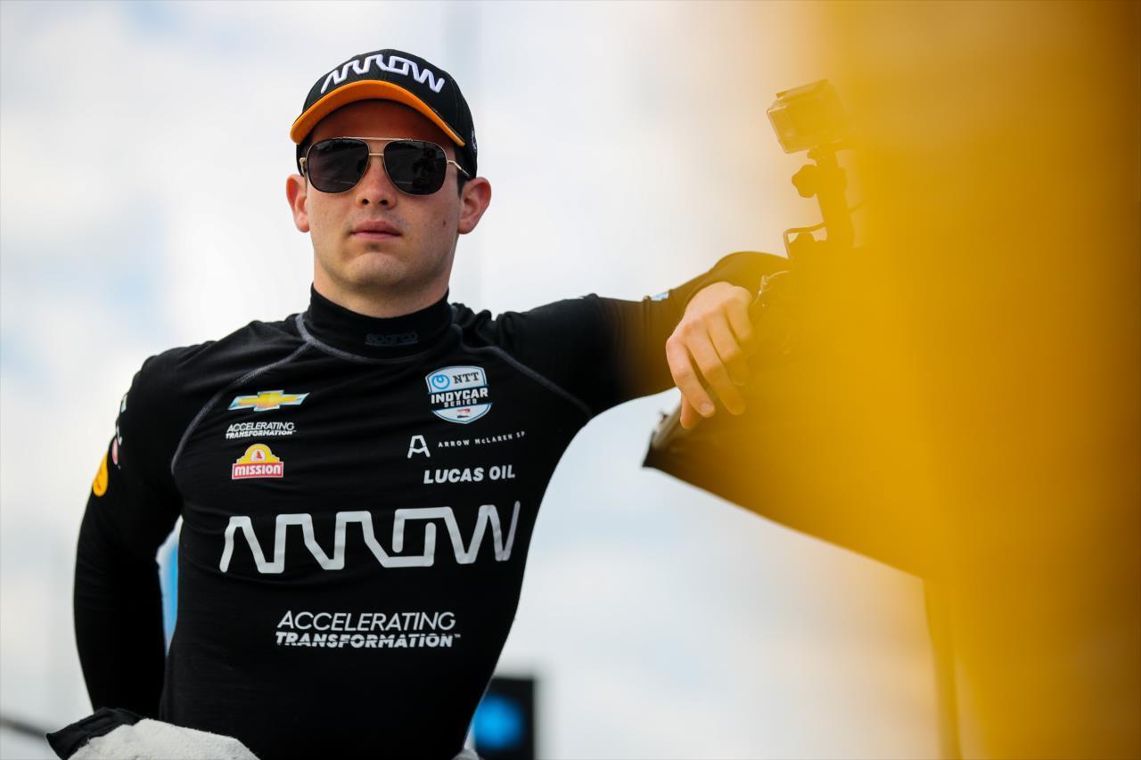 """Brown: """"Megmondtam Patónak, a legjobb út az F1 felé az, ha IndyCar-bajnok lesz"""""""