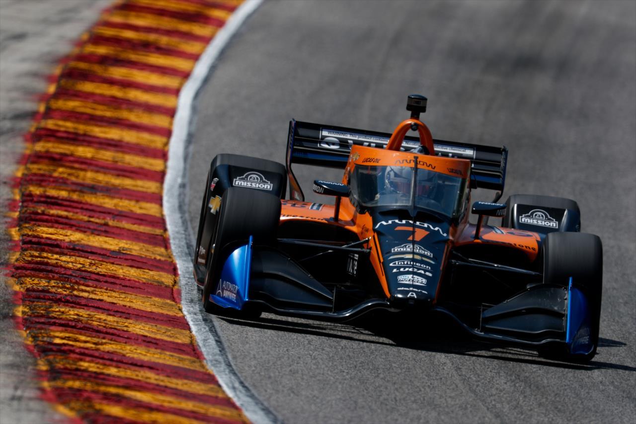 Sajtó: Felix Rosenqvist válthatja Oliver Askew-t a McLarennél