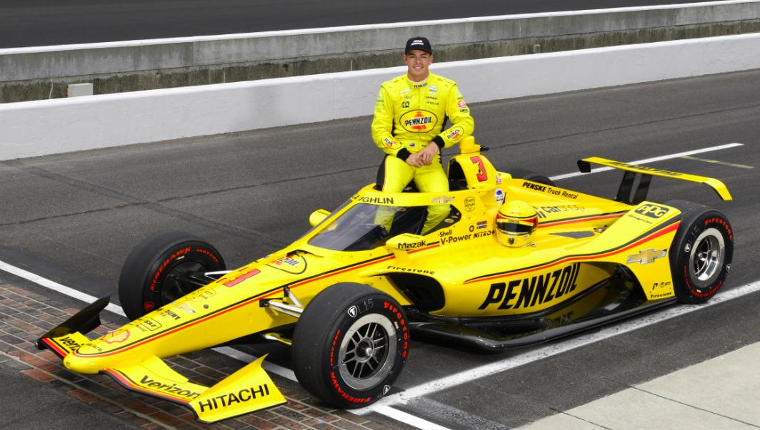 Scott McLaughlint választották a 105. Indy 500 legjobb újoncává