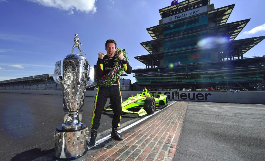 Több, mint 780 millió forintot ért Simon Pagenaud Indy 500 győzelme