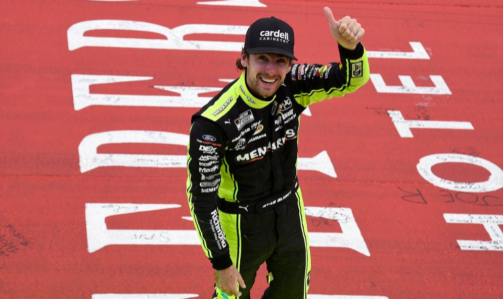 NASCAR: Az MIS-en valaha mért legszorosabb befutójában nyert Ryan Blaney