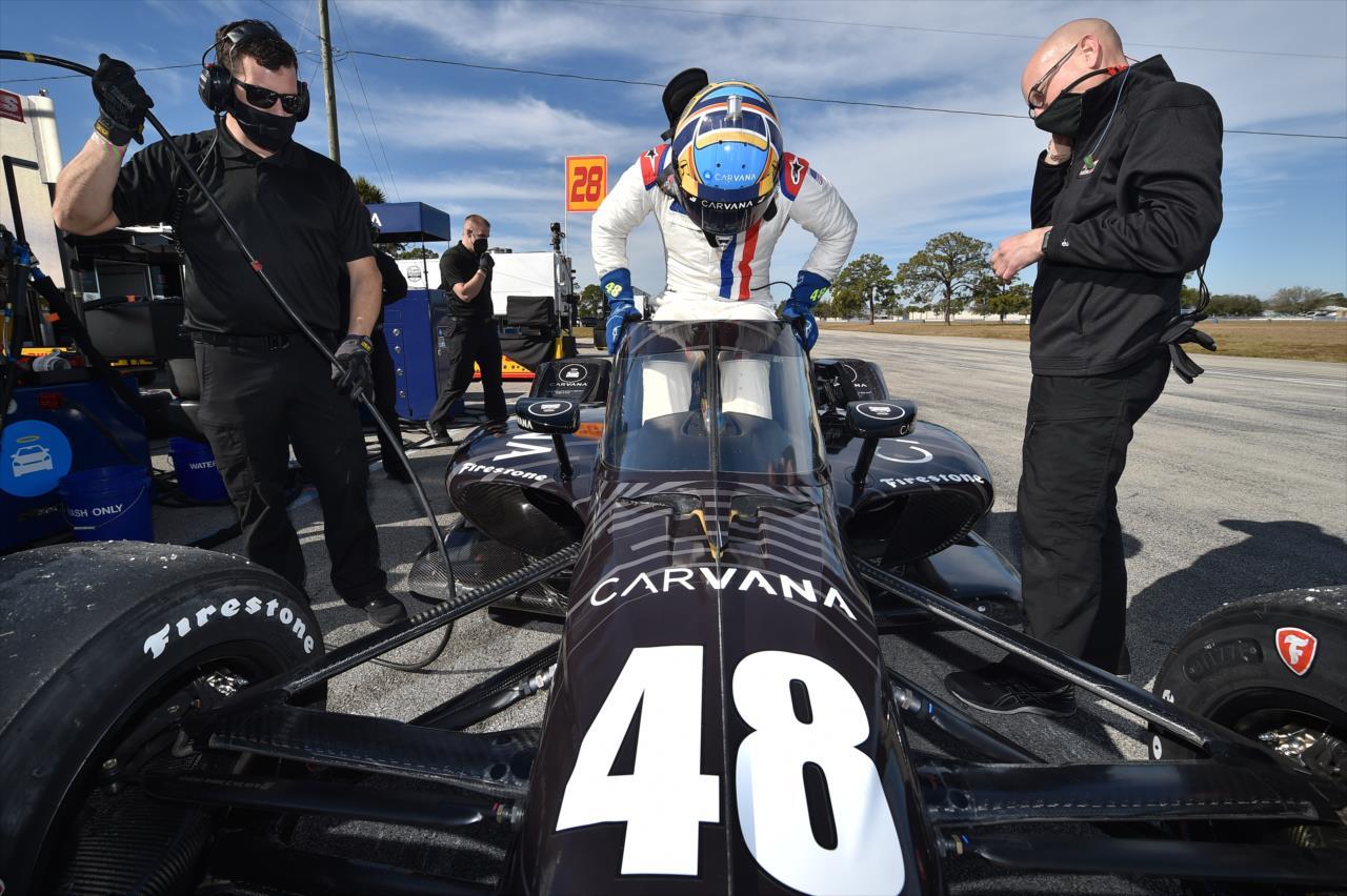 Jimmie Johnson bevallotta, hogy nem elég fitt az IndyCarhoz