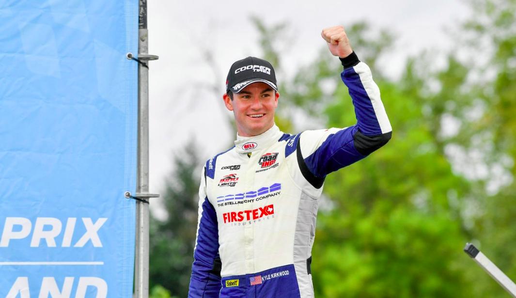 Öt szezon, öt széria, öt bajnoki cím: Kirkwood felért az Indy Lights csúcsára is