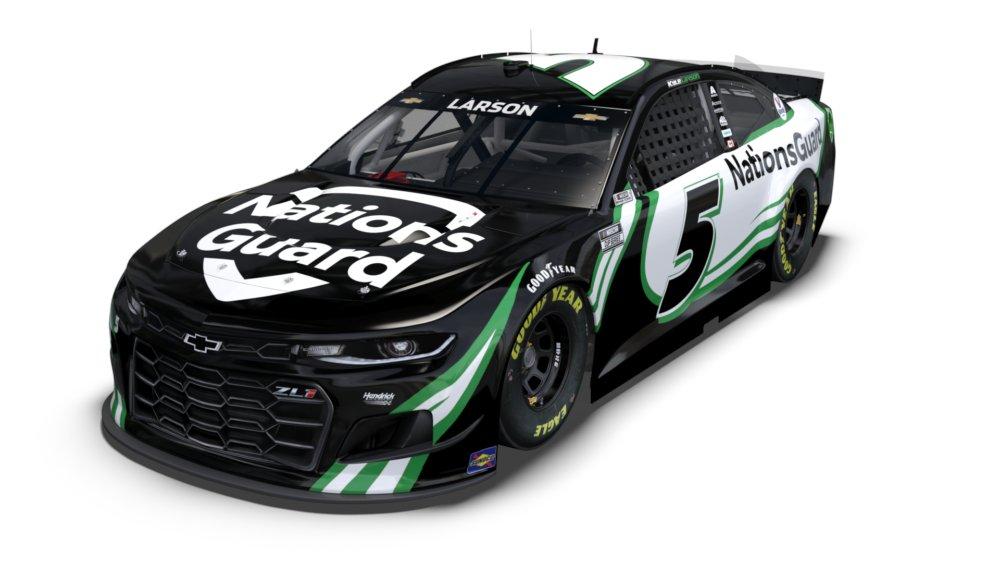 Ezzel az autóval tér vissza Kyle Larson a NASCAR Cupba