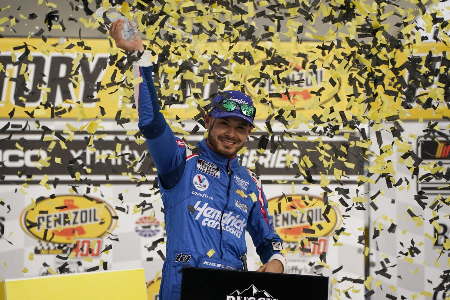 Visszatért: Kyle Larson megnyerte a NASCAR Cup Las Vegas-i versenyét