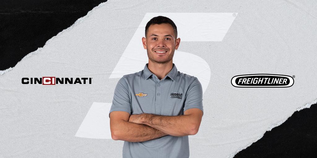 NASCAR: Újabb két szponzor állt be Kyle Larson mögé