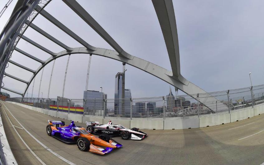 IndyCar: Az első onboard-kör Nashville utcáin (VIDEÓ)