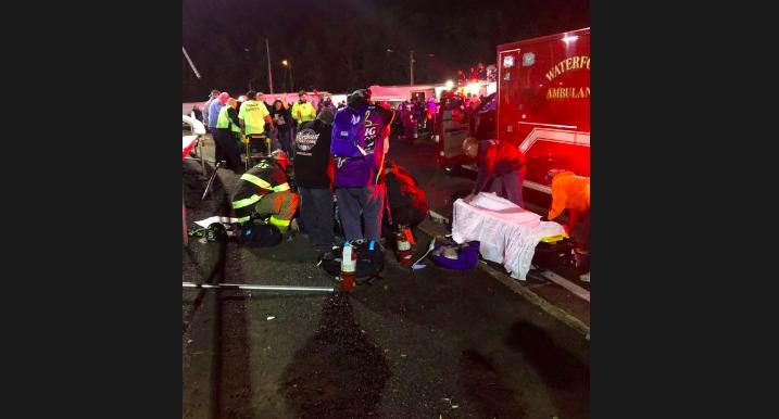 Brutális baleset történt a connecticuti NASCAR SK Modified futamon (VIDEÓ)