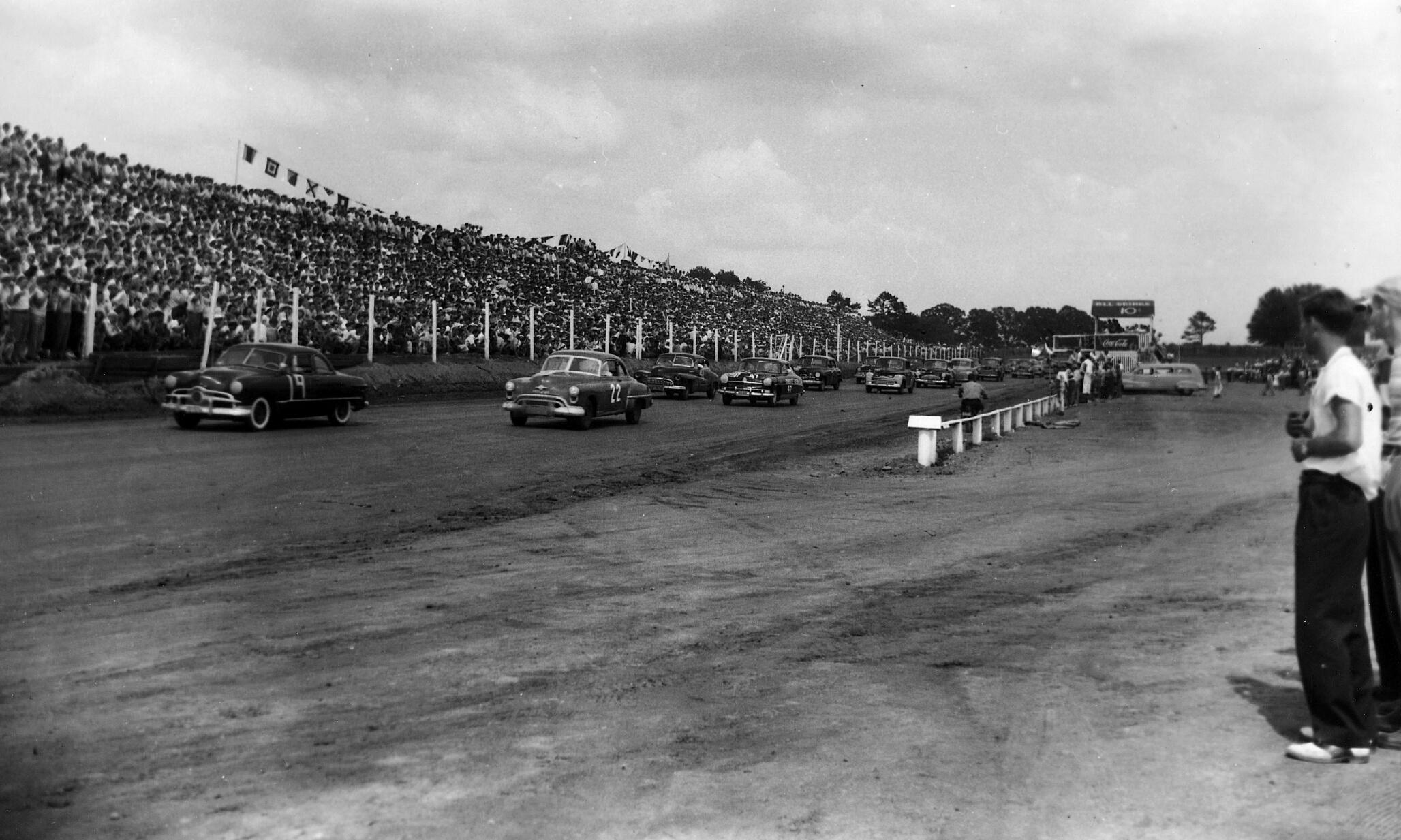 A NASCAR debütáló futama jobb volt, mint egy hollywoodi road movie