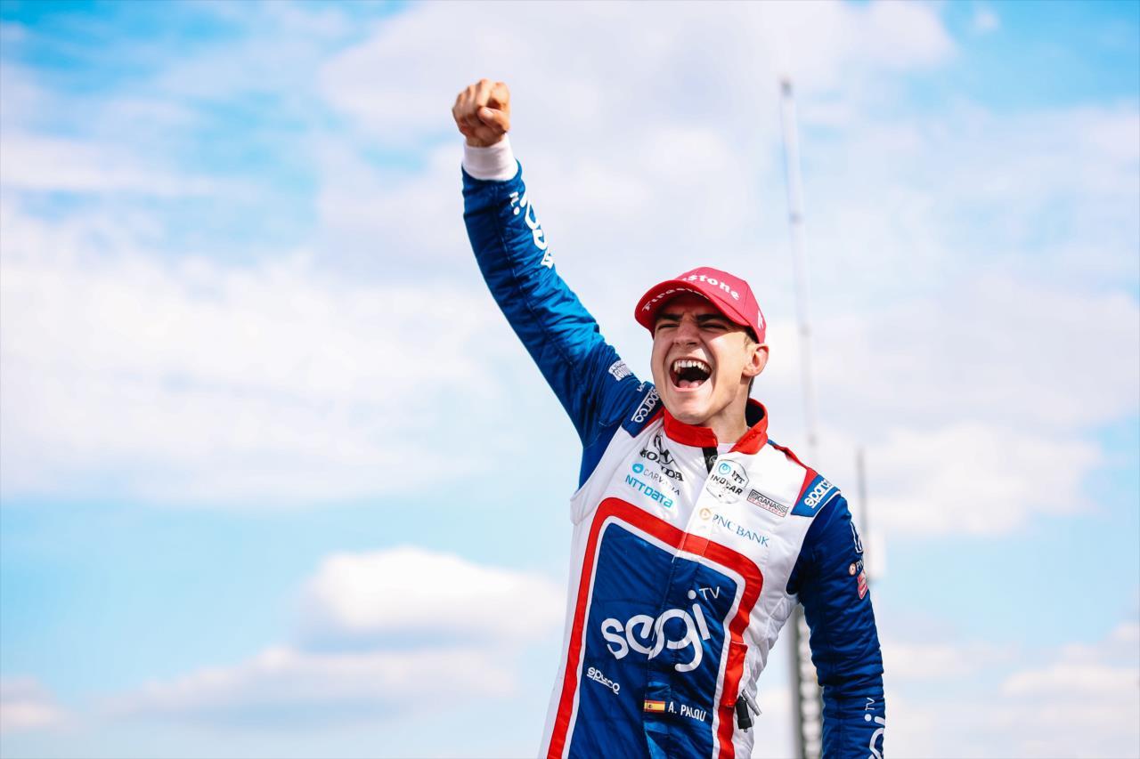 IndyCar: Alex Palou győzelmét hozta a tömegbalesettel tarkított szezonnyitó