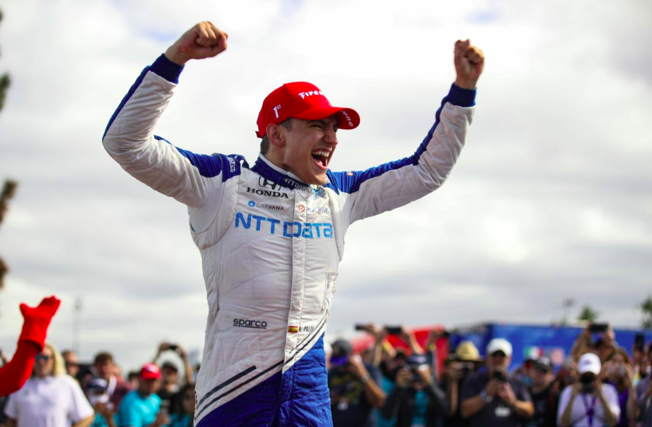 IndyCar: Palou győzött Portlandben és újra a bajnokság élére állt