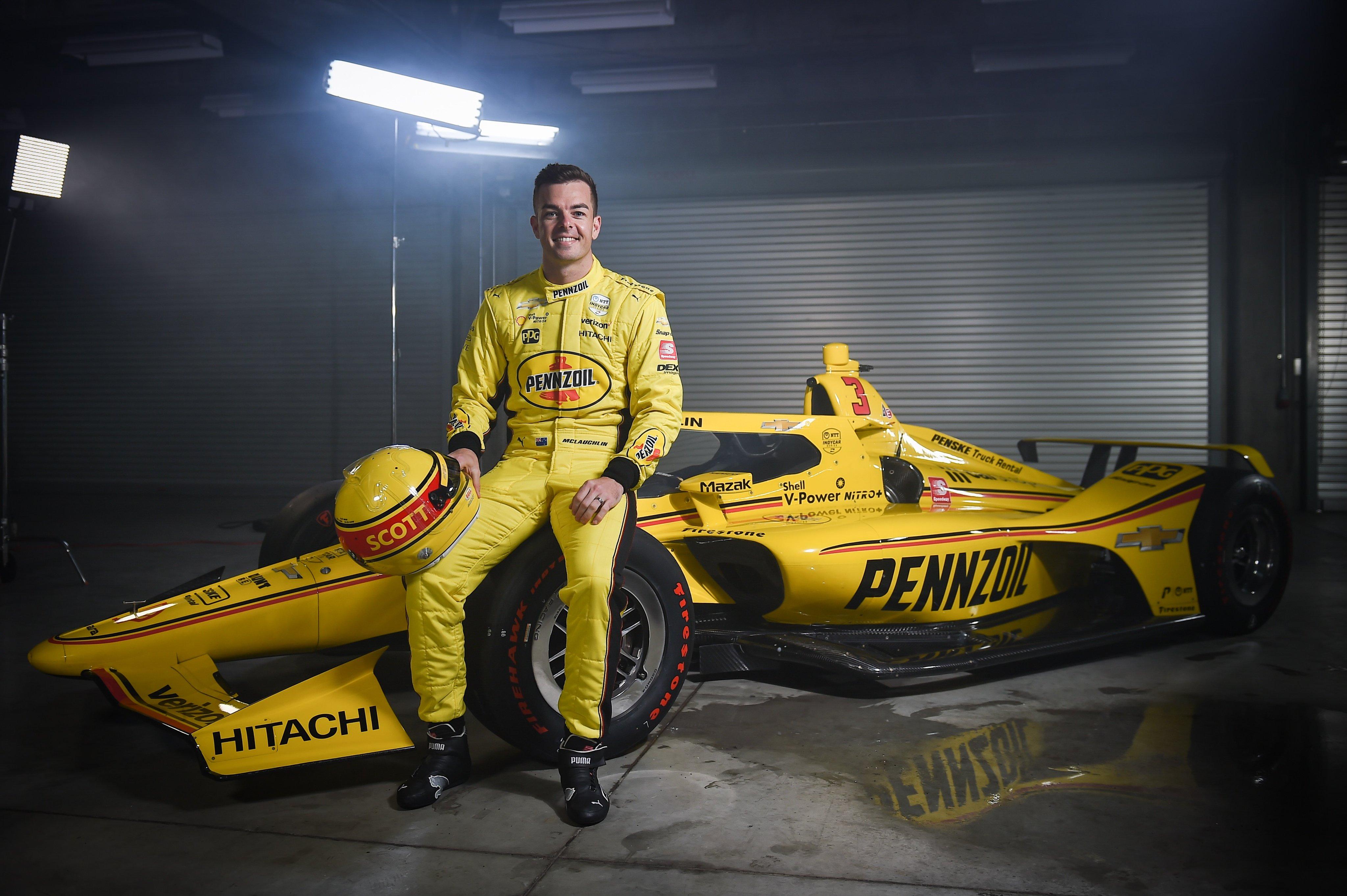 McLaughlin a sárga tengeralattjáróban vág neki az Indy 500-nak