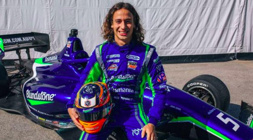Nem jött be neki az amerikai versenyzés – Távozik az Indy Lightsból Alex Peroni