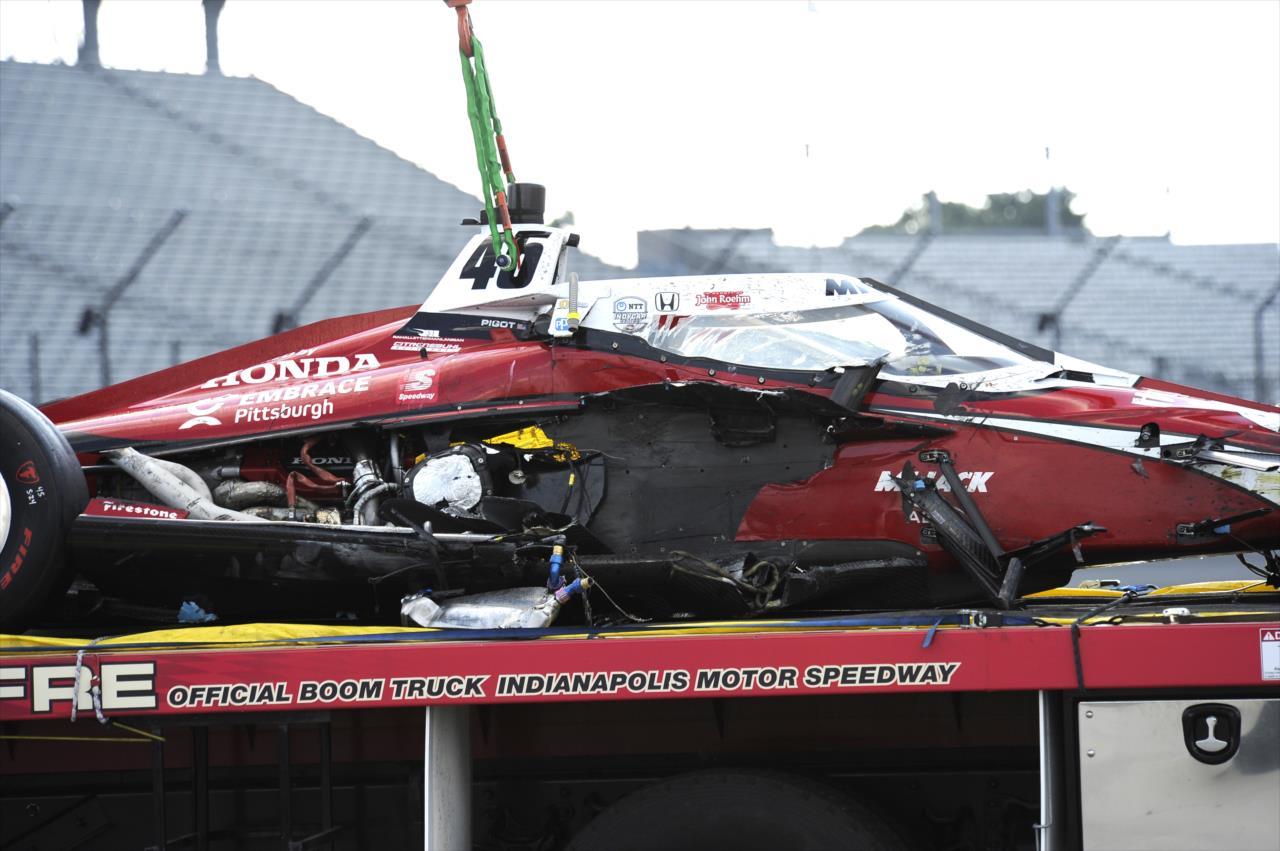 Egy hónap alatt már öt IndyCar-versenyzőt mentett meg az aeroscreen