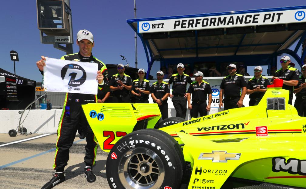 Totális Team Penske-uralmat hozott az IndyCar iowai kvalifikációja