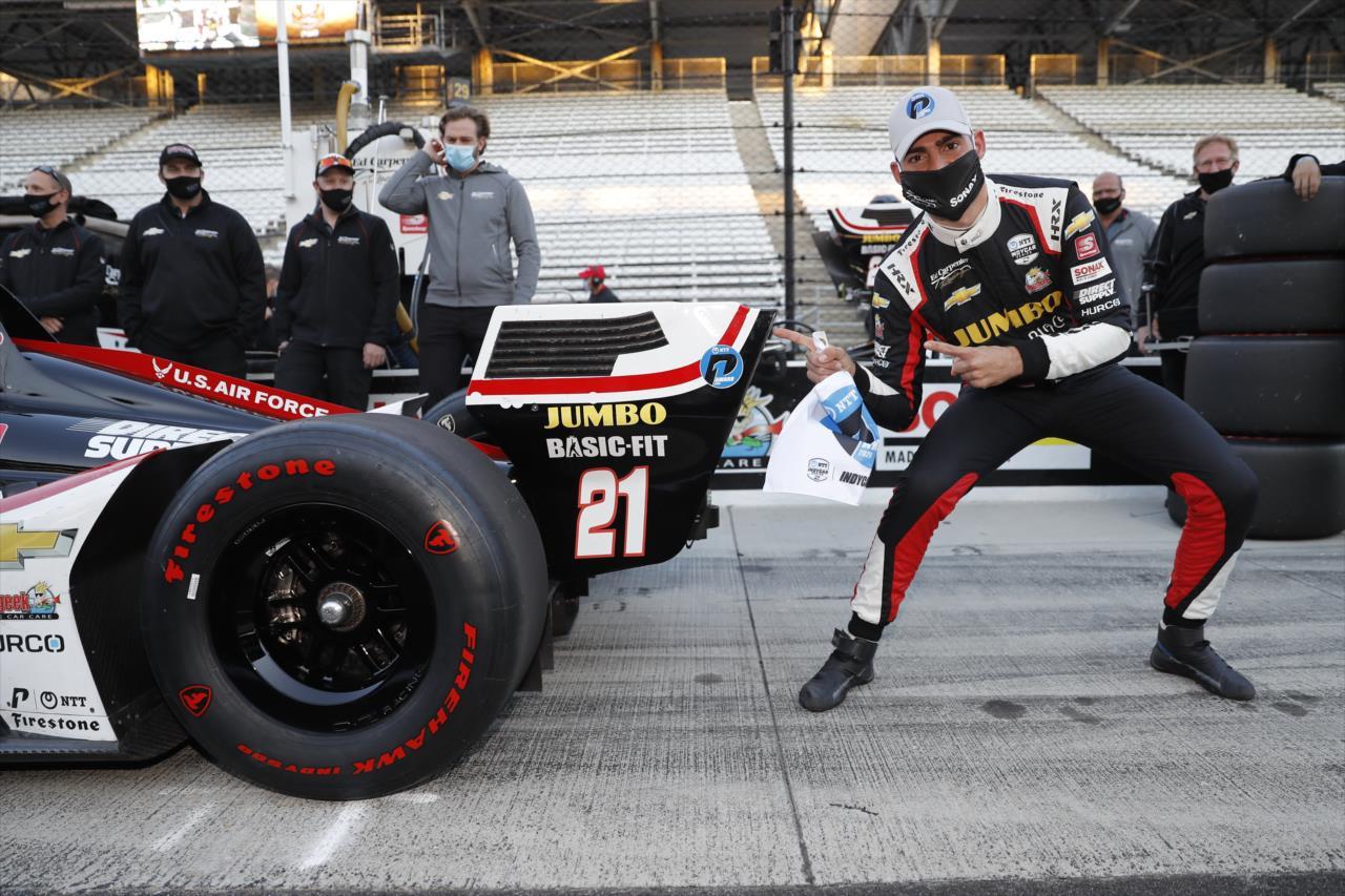 Megszerezte IndyCar-karrierje első pole-ját Rinus VeeKay