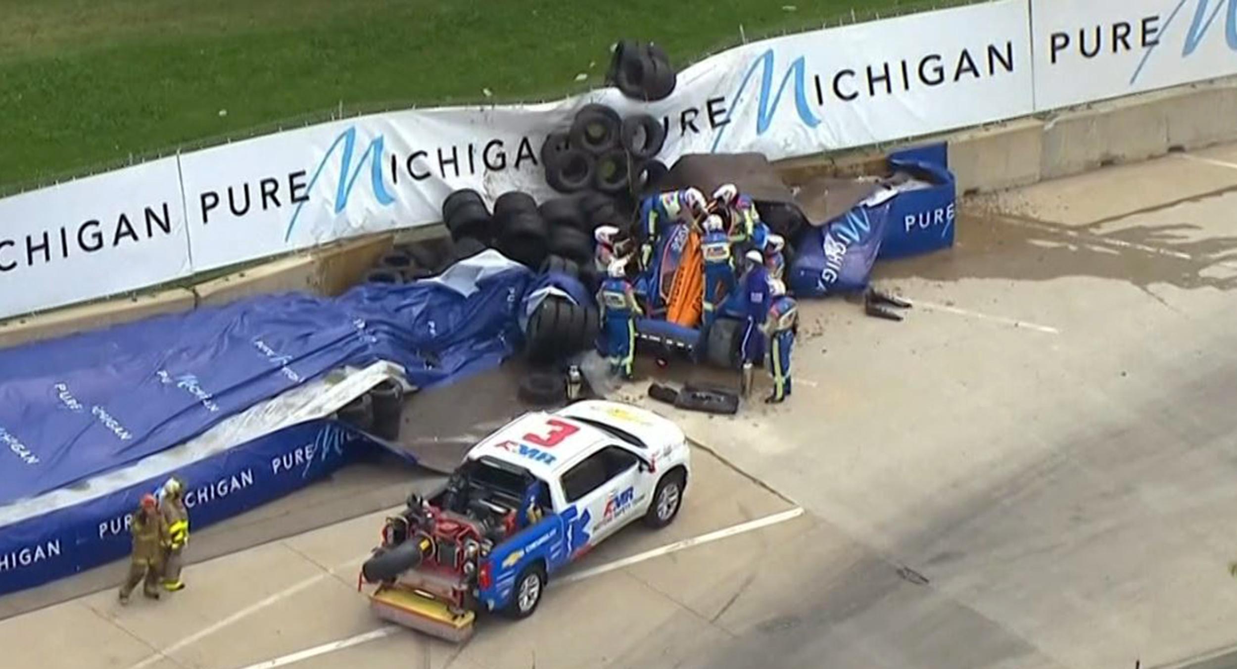 IndyCar: Rosenqvist elhagyhatta a kórházat