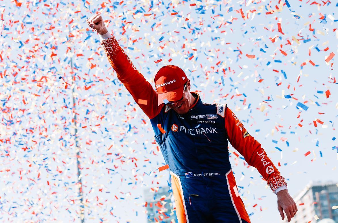 Scott Dixon végképp bejelentkezett az ötödik bajnoki címéért