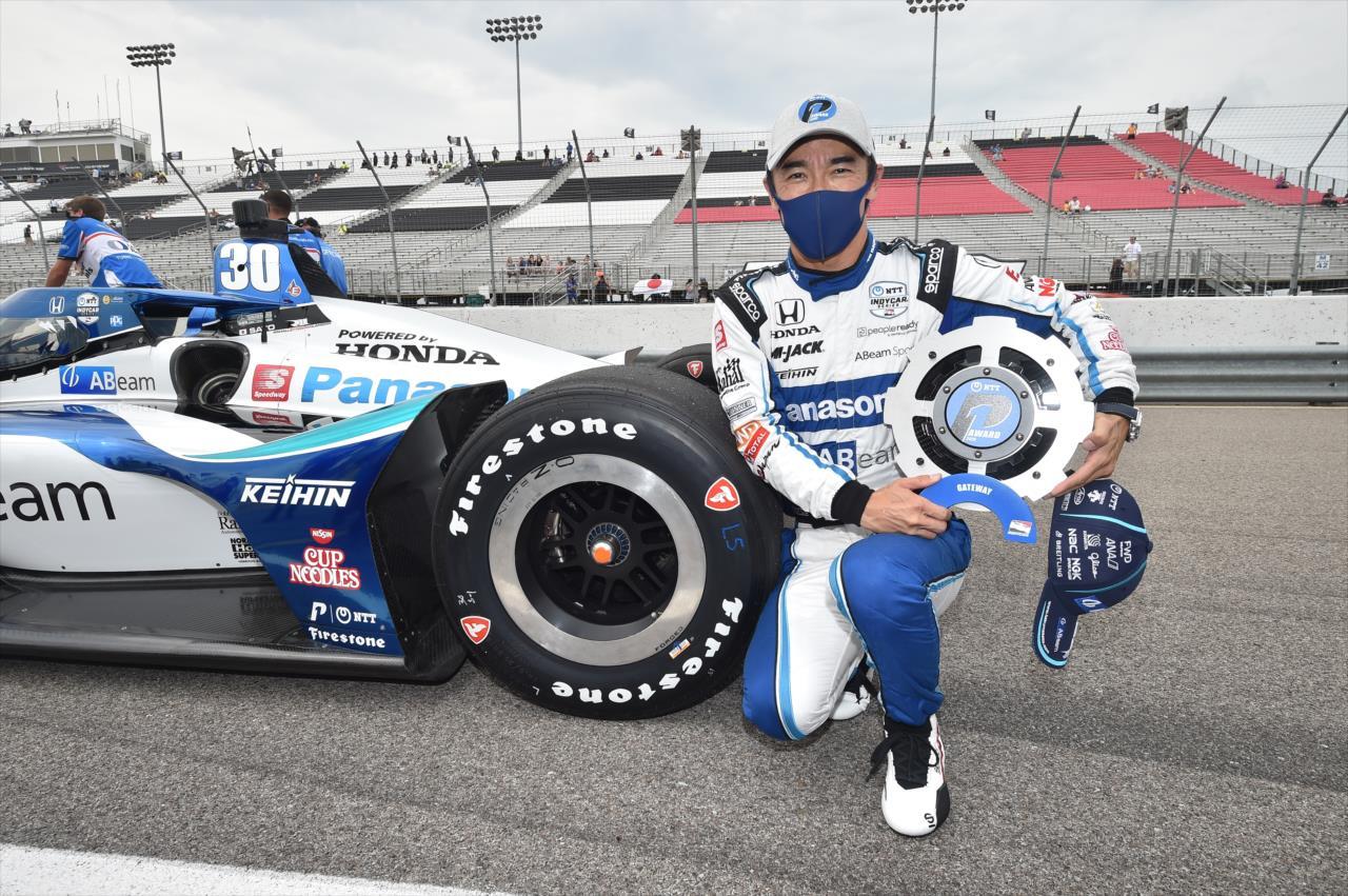 IndyCar: Power és Sato indulhat a pole-ból Gatewayen